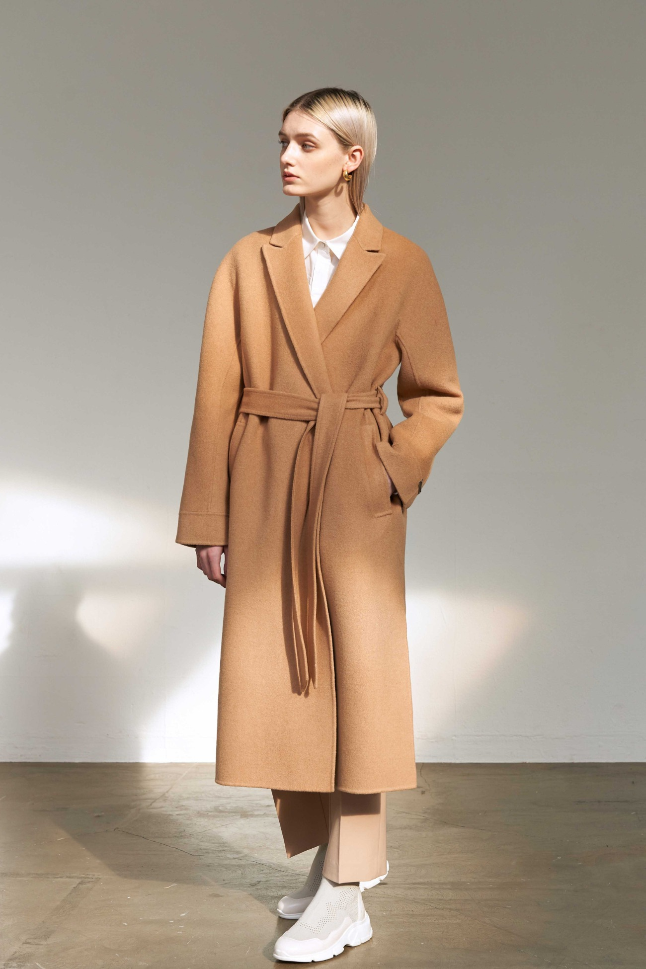 Handmade Coat Robe Layered