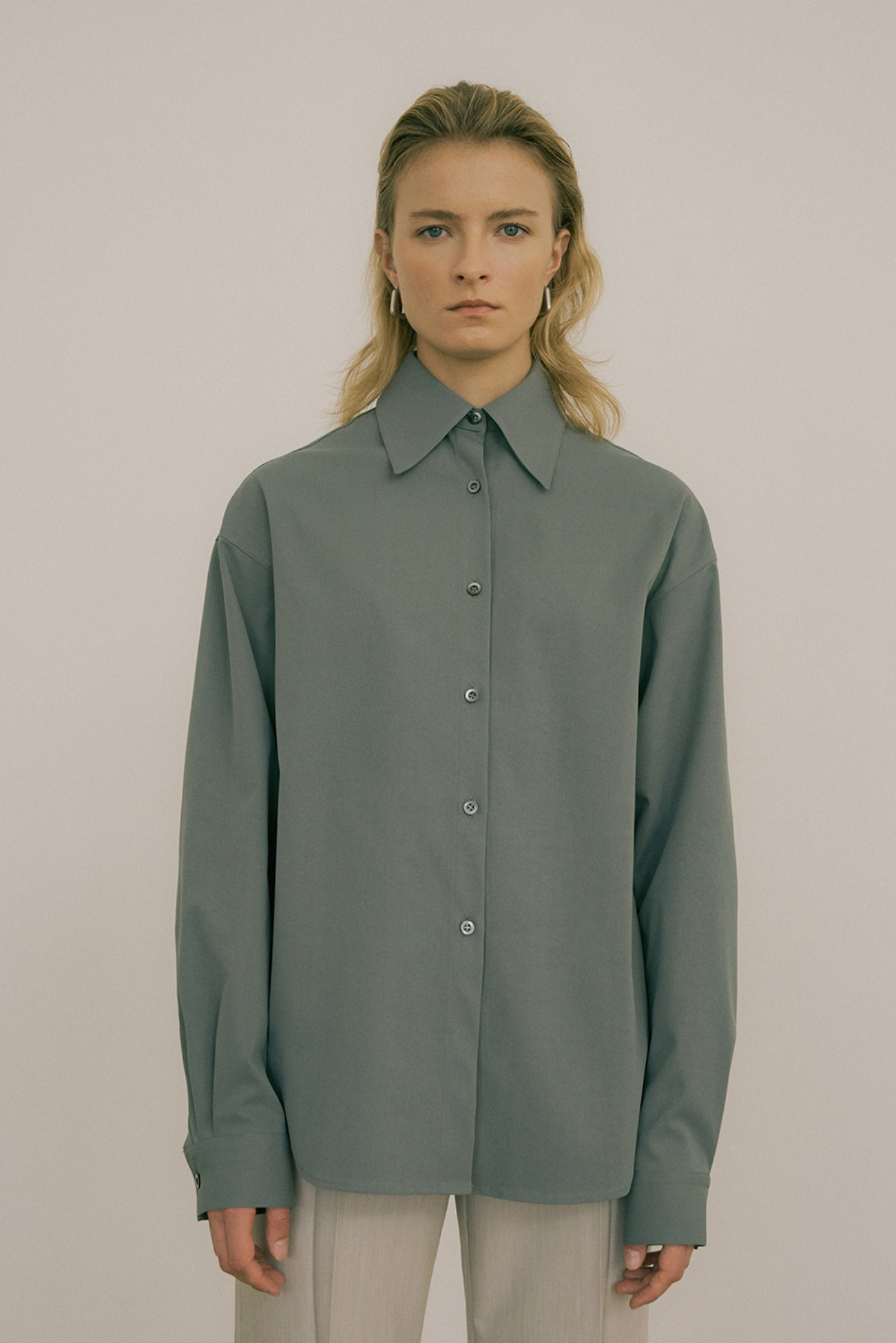 20 FW OVER-FIT DRY TEXTURE SHIRT