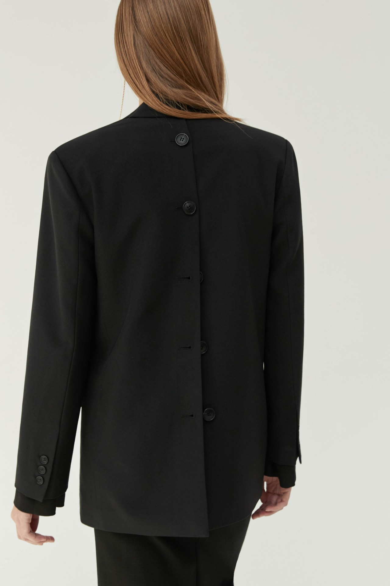 Jacket Back Button (Black)