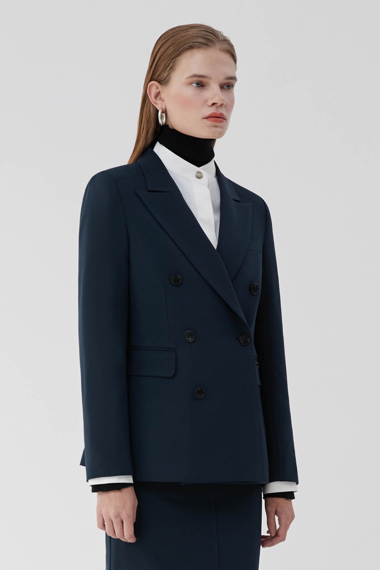 Jacket Standard Double (Navy)