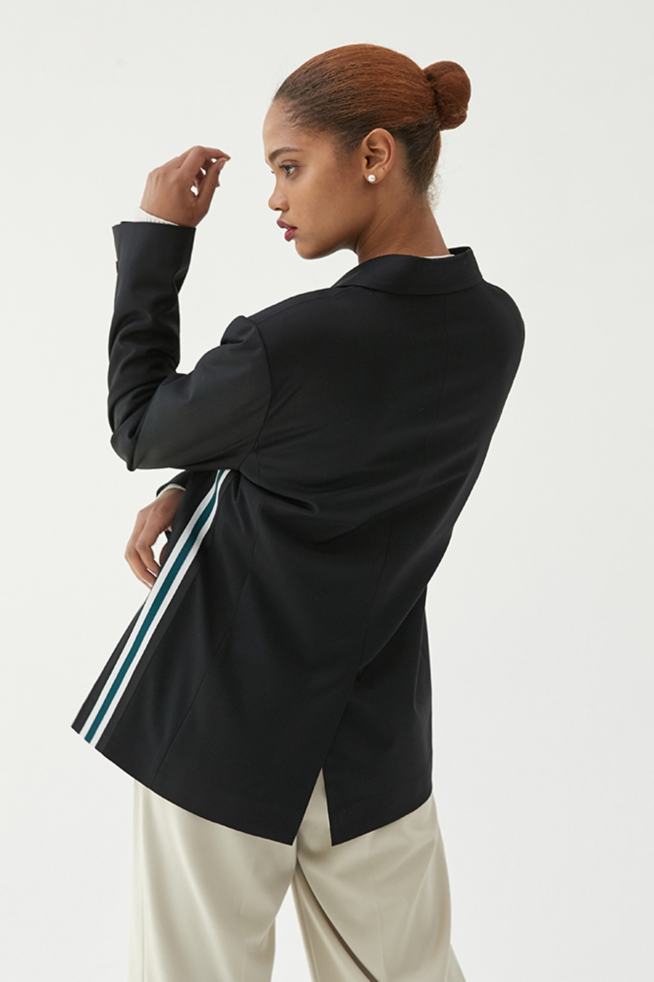 Jacket Track Oxford (Black)